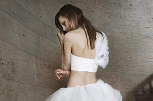 Необычные свадебные платья 2014