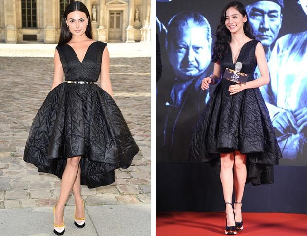 ed91804cffba Кому идет больше черное платье от Christian Dior