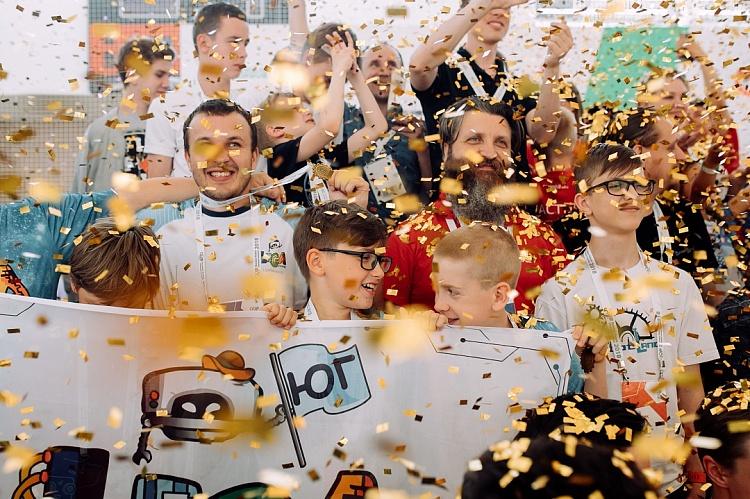 LEGO EDUCATION наградила финалистов Всероссийской робототехнической олимпиады