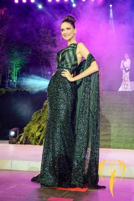 Анастасия Щипанова представила Белоруссию на конкурсе