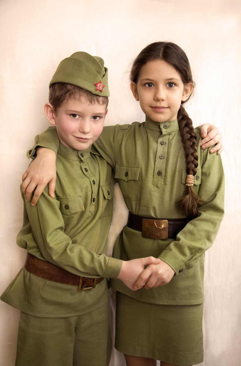 Военная форма для детей. (9 мая) Прокат и пошив на заказ.