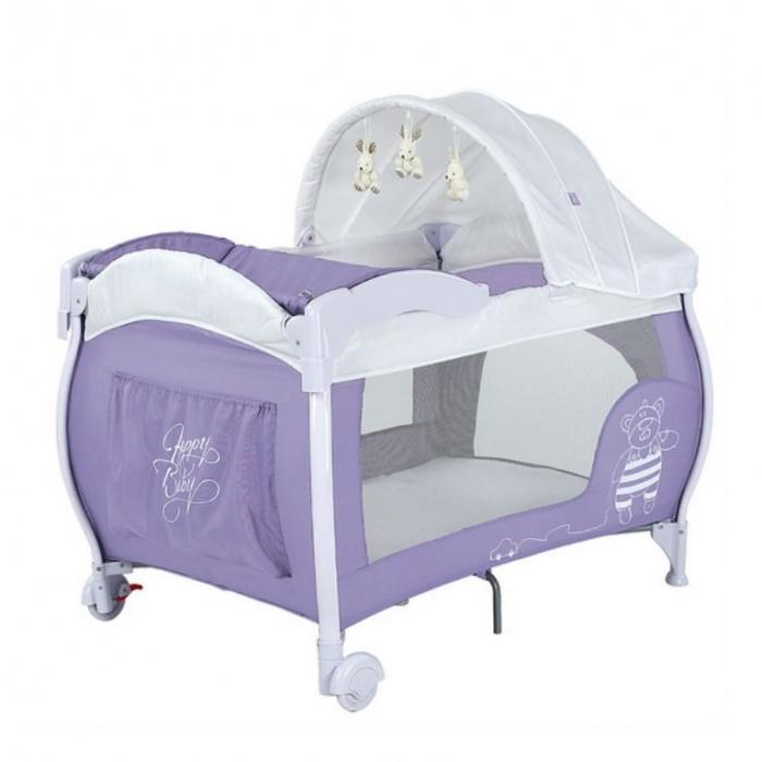 кровать-манеж Happy Baby