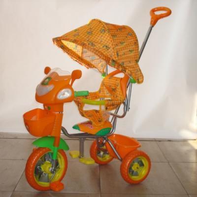 детский велосипед gt2524 трехколесный светлячок