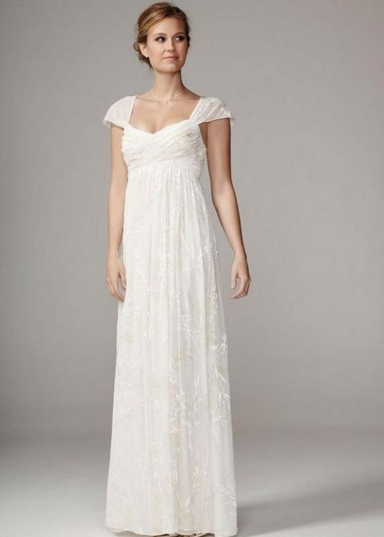 Свадебное платье для беременных буду мамой 12