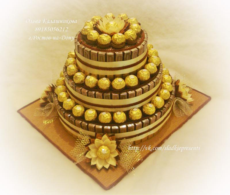 Подарки из конфет, торты из памперсов, изделия из фоамирана