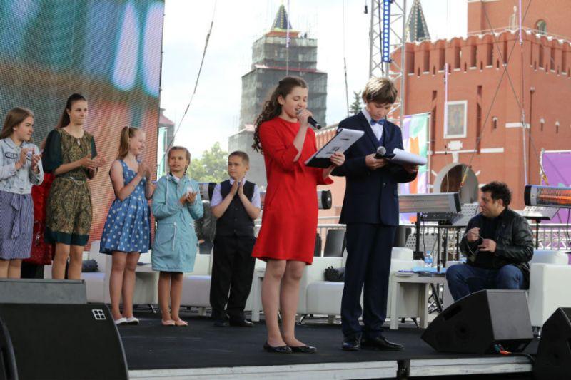 На Красной площади будут объявлены имена лучших русскоязычных юных чтецов мира