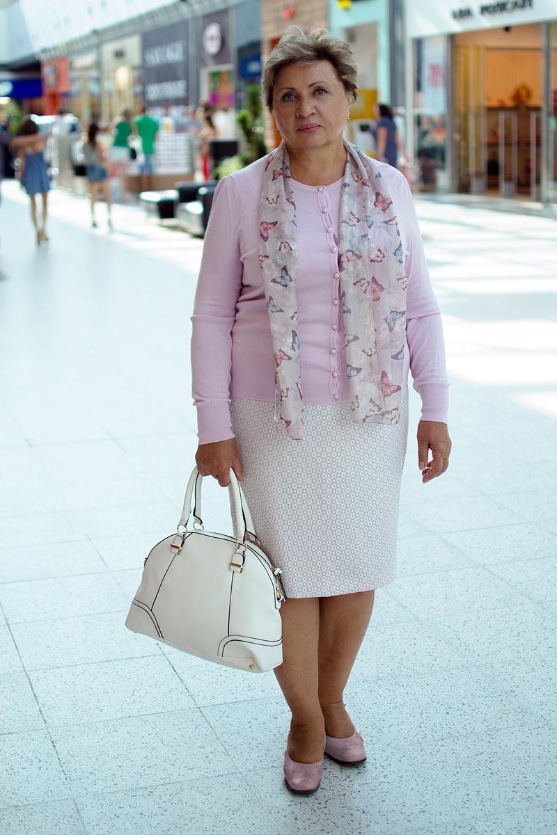 Платье, кардиган Marks&Spencer, платок, сумка Accessorize .