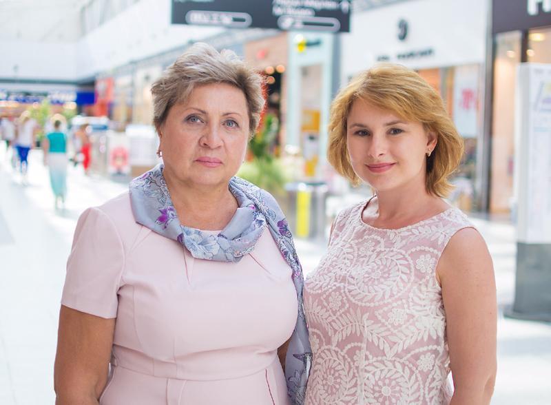 Татьяна Скляренко и Наталия Ефимова.