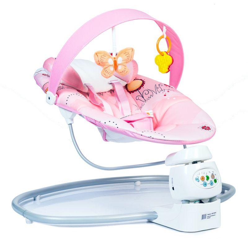 Шезлонг-качели для малышей BabyHit Best Rest