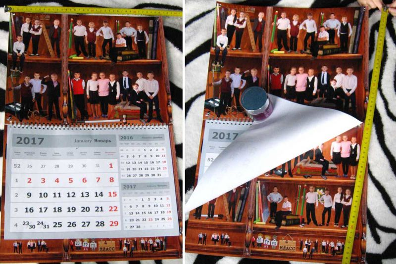 плакаты календари с вашими фотографиями, фотокниги на заказ 150р.