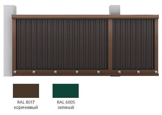 Набор комплектации для сборки сдвижных ворот DoorHan