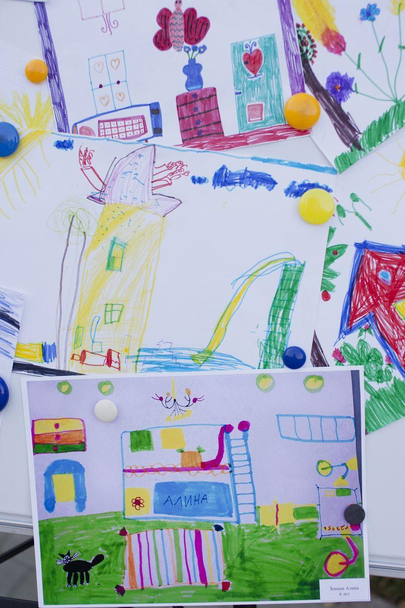 Конкурсные детские рисунки