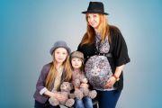 Фотосессия беременной с детьми