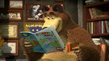 В новой серии мультфильма «Маша и Медведь» малышей научат иностранным языкам