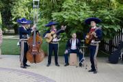 Группа мексиканцев Los Panchos