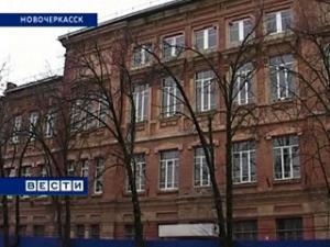В новочеркасской школе обрушились конструкции потолка