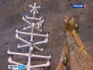 В Ростове выберут лучшую Арт-елку