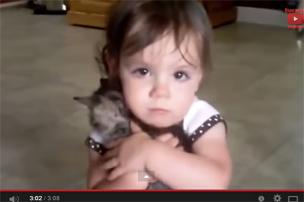 Дети и животные. Мило и смешно