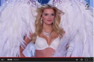 Victoria's Secret Fashion Show SNOW ANGELS 2013-2014