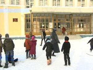 Мороз не заставил ростовские школы закрыться на 'неплановые каникулы'