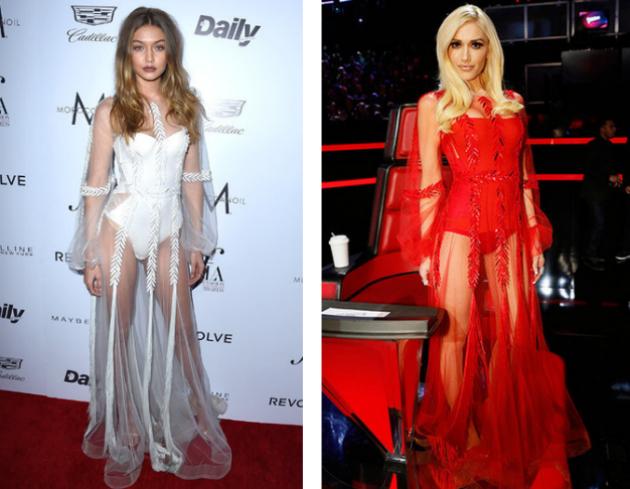 Белое или красное прозрачное? Джиджи Хадид или Гвен Стефани?