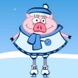 Свинка из Марципана