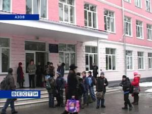 В Азове капитально отремонтирована самая большая школа города