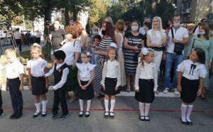 В Ростовской области школьные линейки прошли для 50 тысяч первоклассников