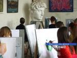 В Новочеркасске открылась выставка работ учащихся ростовской детской художественной школы имени Чиненовых