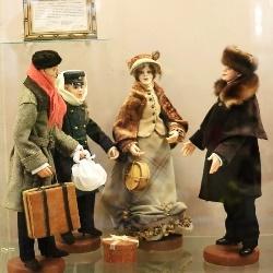 Мир детства: выставка игрушек