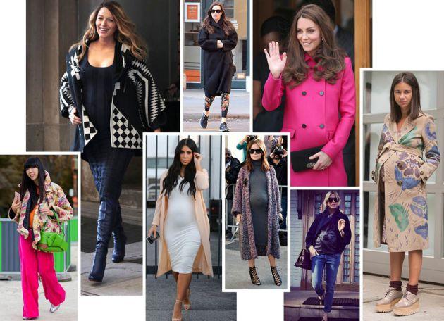 Зимняя верхняя одежда для беременных