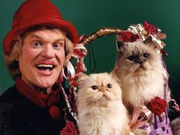Юрий Куклачев и кошки