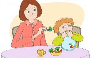 Приучить ребенка к здоровой пище оказалось легко