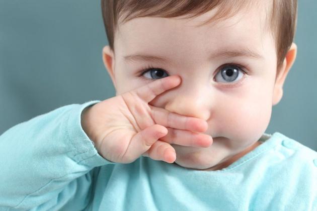 Малыш, не чихай!