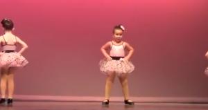 Танец шестилетней девочки покорил интернет