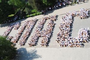В Шахтах более двух тысяч студентов сказали «спасибо» ветеранам