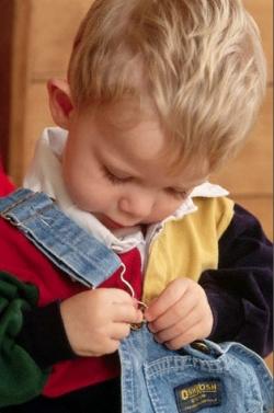 Одеваем ребенка в детский сад