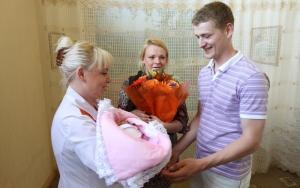 В России за пять месяцев 2013 года родилось более 750 тысяч детей