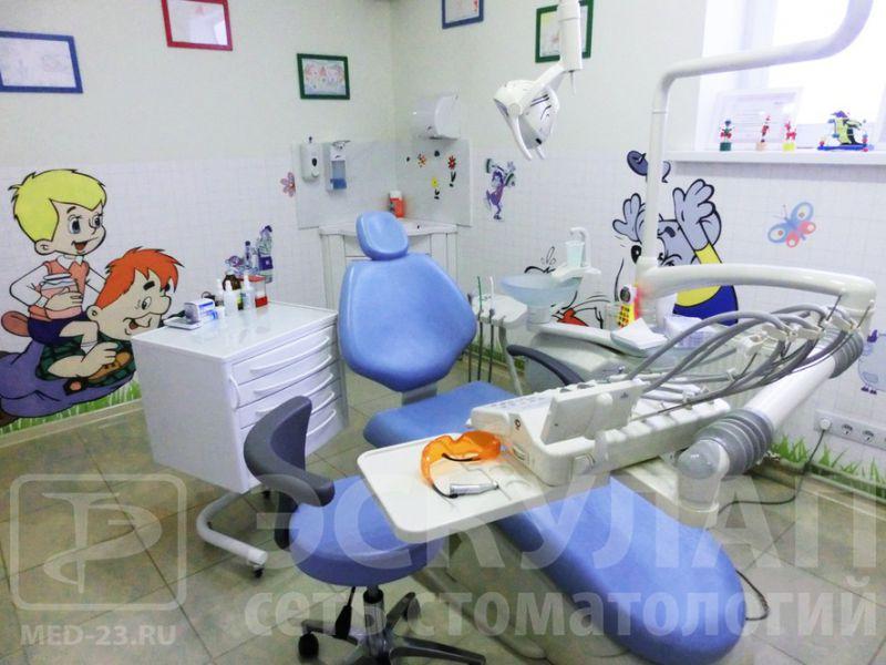 Клиника «Эскулап» в рейтинге детских стоматологий Краснодара