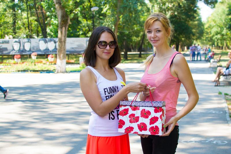 Победительница июля Оля Нахалова (ник Нахалова248) Фото:Галина Терновая