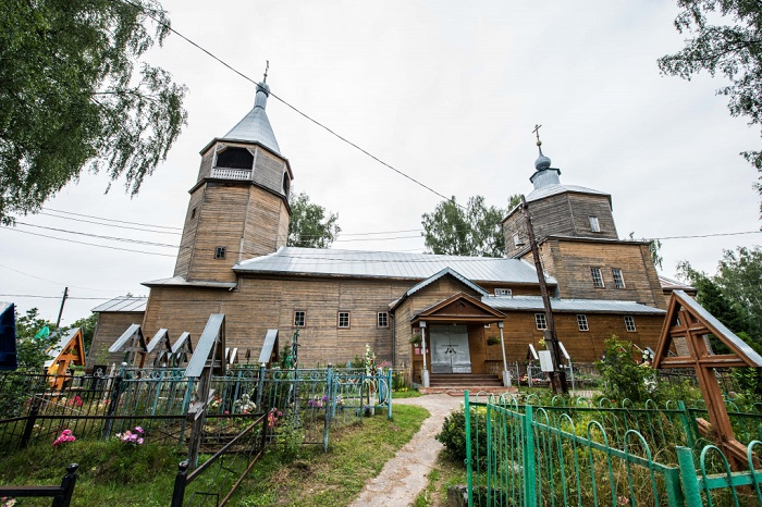 Путеводитель по деревянным церквям Подмосковья