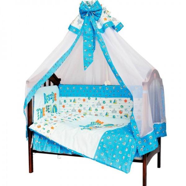 Комплект в кроватку Море (7 предметов)