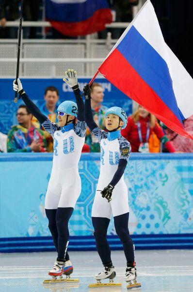 Виктор Ан и Владимир Григорьев завоевали «золото» и «серебро» в шорт-реке.