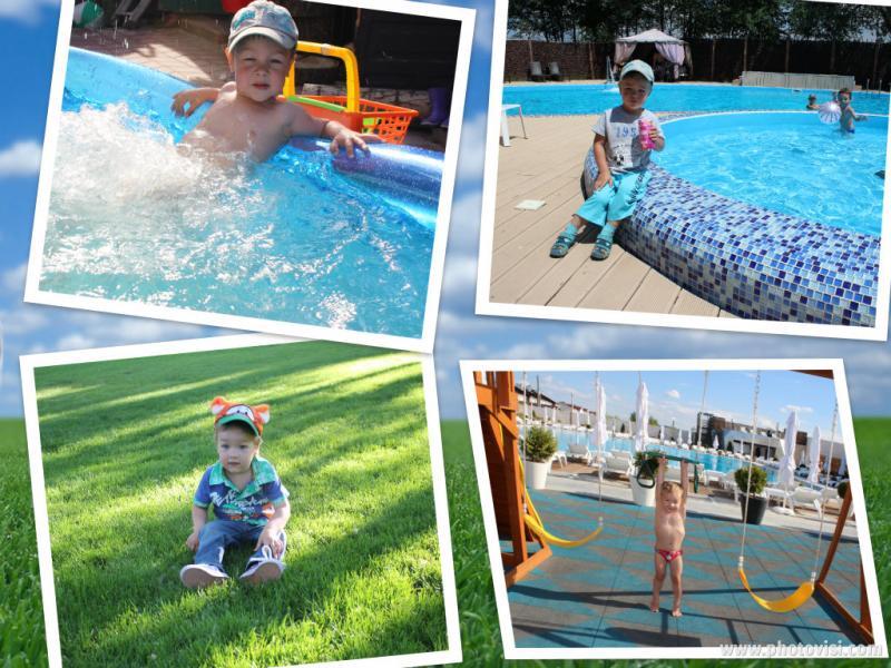 Наш Андрюшка молодец!!!Обожает лето. Море, клубы, парки!!
