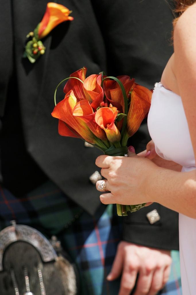 Интересные букеты невест