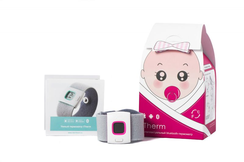 Интеллектуальный термометр ITherm - температура ребенка всегда под контролем!