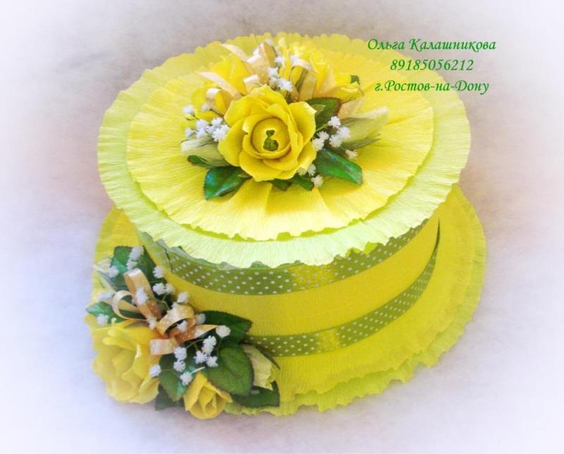 Торт с памперсами