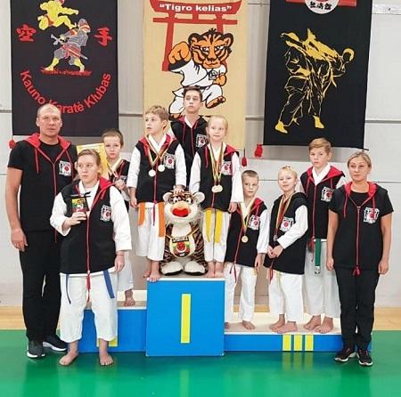 В литовском Каунасе состоялся международный турнир по каратэ «Путь Тигра»