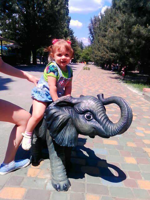 лето-это здорово!прогулка в зоопарке так  понравилась...