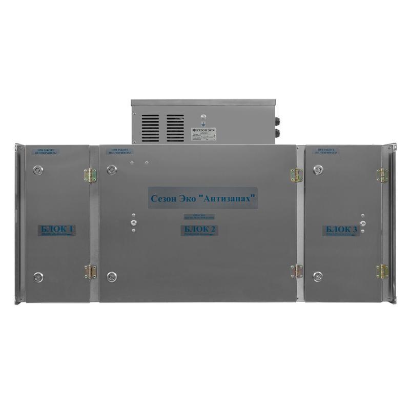 Воздухоочиститель вентиляционный «Антизапах 1000»
